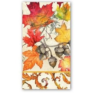 Michel Design Works Michel Fall Symphony Hostess Napkin