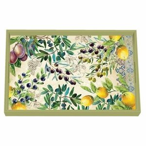 Michel Design Works Michel Tuscan Grove Vanity Decoupage Wooden Tray