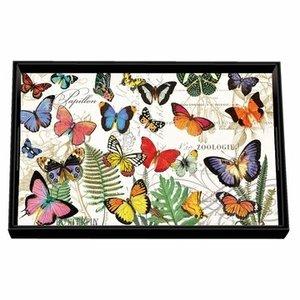 Michel Design Works Michel Papillon Vanity Decoupage Wooden Tray
