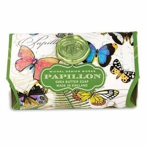 Michel Design Works Papillon Large Bath Soap Bar