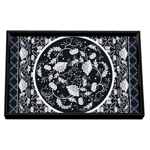 Michel Design Works Bouquet Wooden Vanity Tray