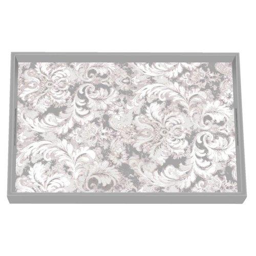 Michel Design Works Earl Grey Vanity Decoupage Wooden Tray
