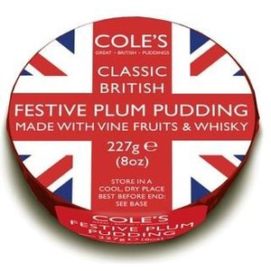 Cole's Cole's Foods Union Jack Festive Whisky Pudding