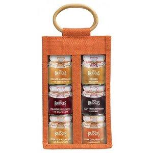 Mrs. Bridges Mrs. Bridges Marmalade Preserve Selection Jute Bag