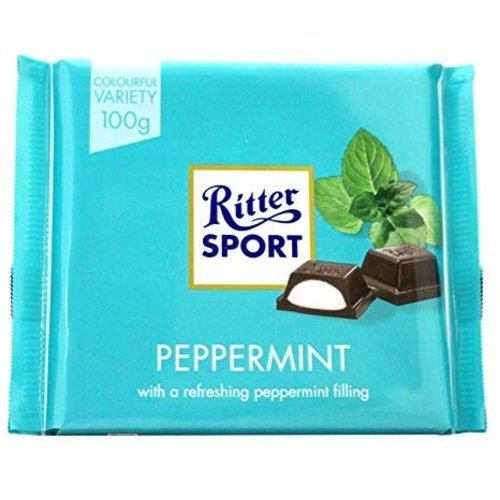 Ritter Sport Ritter Sport Dark Chocolate Peppermint