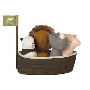 Maileg Maileg Noah's Ark with 4 Rattles