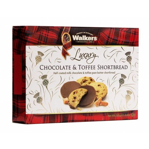 Walker's Shortbread Co. Walkers Luxury Chocolate & Toffee Shortbread