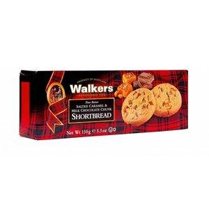 Walker's Shortbread Co. Walkers salted caramel milk chocolate chunk shortbread