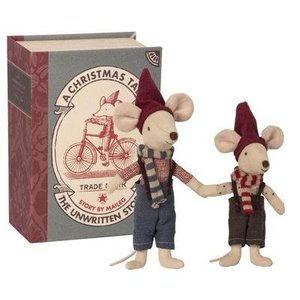 Maileg Maileg Christmas Mice in Book