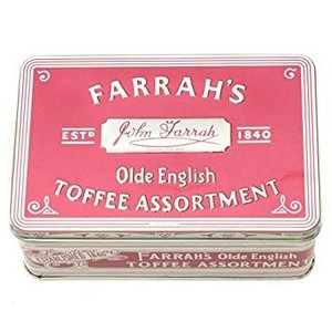 Farrah's Farrah's of Harrogate Olde English Assorted Toffee Tin