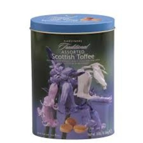 Gardiners of Scotland Gardiners Traditional Assorted Scottish Toffee Tin