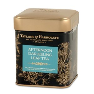 Taylors of Harrogate Afternoon Darjeeling Loose Tea Tin