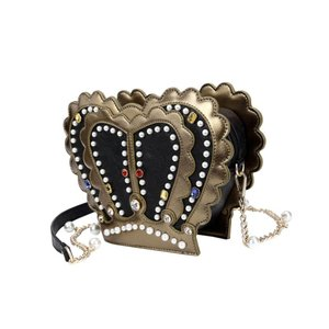 Vendula Vendula Queens Crown Shaped Crossbody Bag