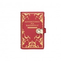 Vendula Book Shaped Wallet Red