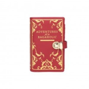 Vendula Vendula Book Shaped Wallet Red