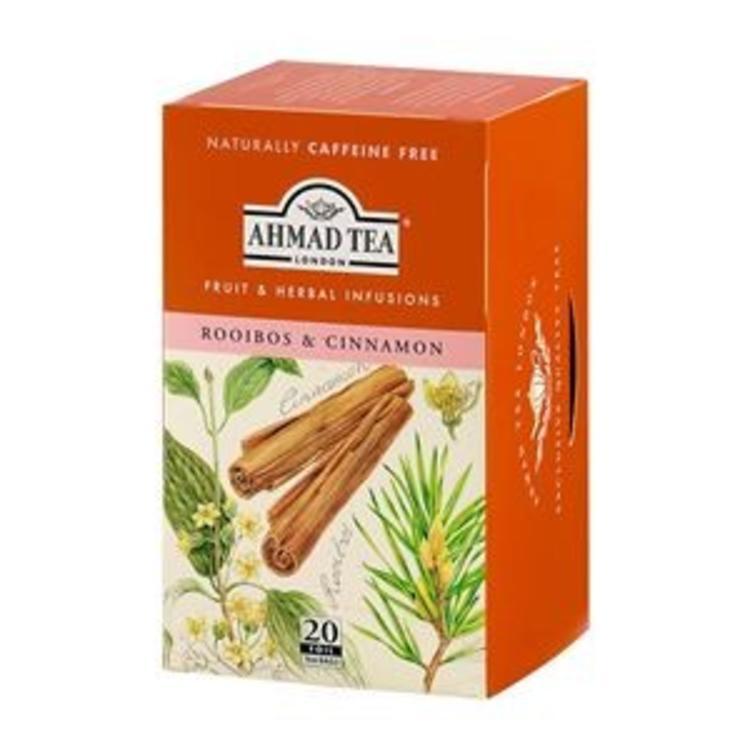 Ahmad Tea Ahmad rooibos and cinnamon 20s