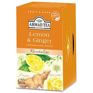 Ahmad Tea Ahmad lemon and ginger 20s