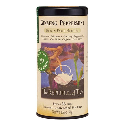 Republic of Tea Republic of Tea Ginseng Peppermint Tea