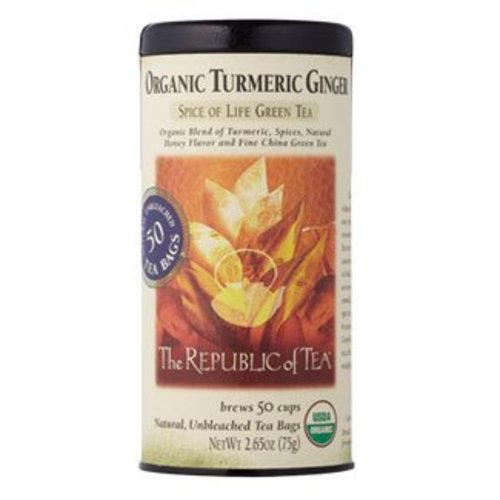 Republic of Tea Organic Turmeric Ginger Tea