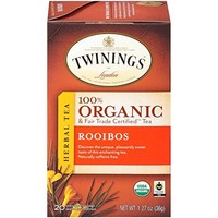 Twinings  20 ct Organic Rooibos Herbal