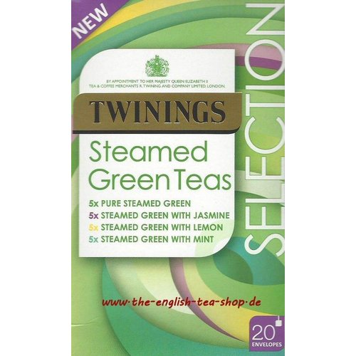 Twinings Twinings 20 CT Steamed Green Selection