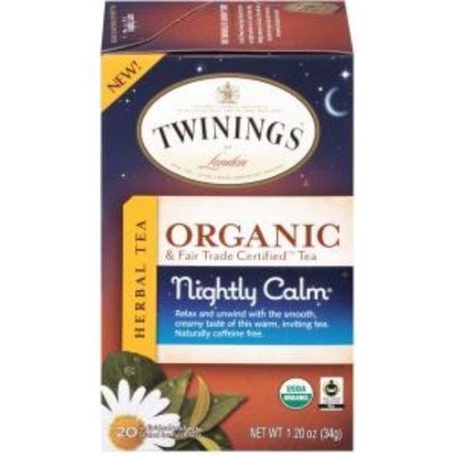 Twinings Twinings 20 CT Organic Nightly Calm