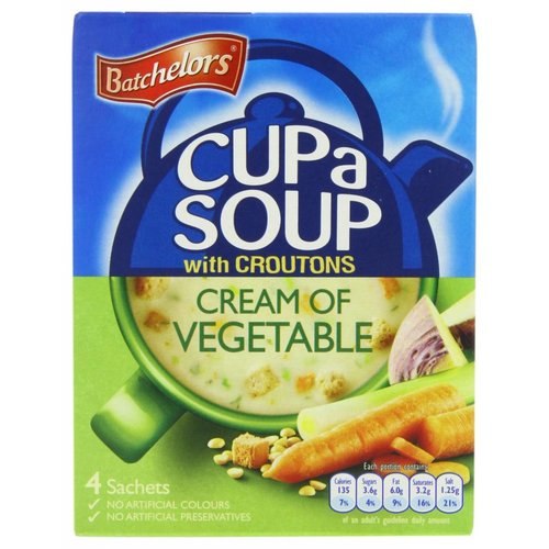 Batchelors Batchelor's Cup-a-Soup Cream of Vegetable