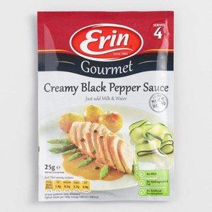 Erin Erin creamy black pepper sauce