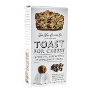 The Fine Cheese Company Fine Cheese Co. Toast for Cheese Apricot, Pistachio & Sunflower Seeds