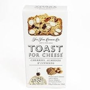 The Fine Cheese Company The Fine Cheese Co. Toast for Cheese Cherries, Almonds & Linseeds