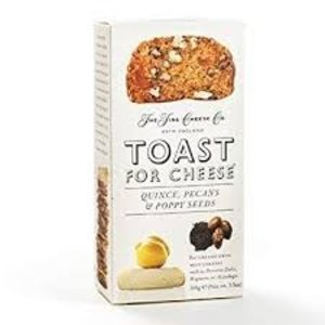 The Fine Cheese Company The Fine Cheese Co. Toast for Cheese Quince, Pecans, & Poppy Seeds