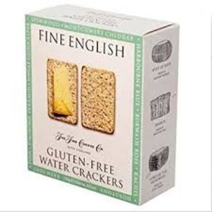 The Fine Cheese Company Fine English Gluten Free Water Crackers