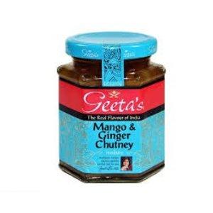 Geeta's Geeta's Mango and Ginger Chutney