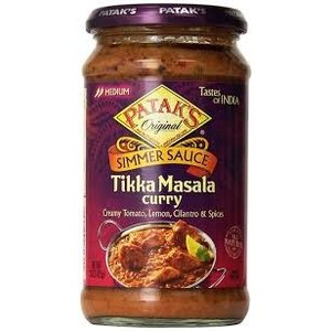 Patak's Pataks Tikka Masala Curry Simmer Sauce