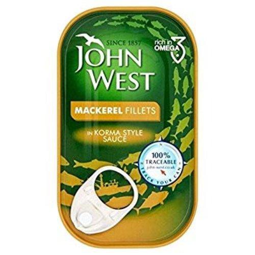 John West John West Mackrel in Korma