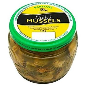 Parson's Parsons Pickled Mussels