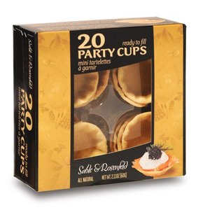 Sable & Rosenfeld 20 Party Cups