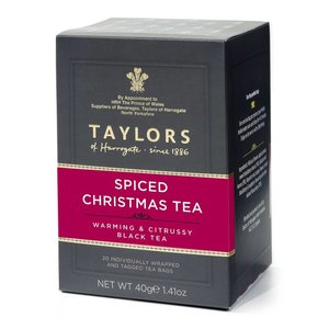 Taylor's of Harrogate Taylor's of Harrogate Spiced Christmas Tea 20s