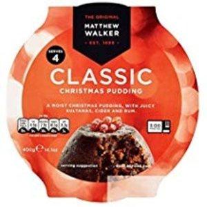 Matthew Walker Matthew Walker Classic Christmas Pudding 400g