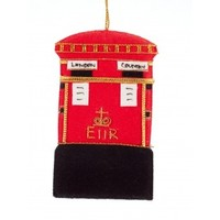 St. Nicolas Post Box Ornament