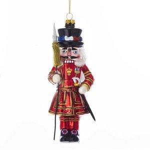 """Kurt Adler Kurt S. Adler 6.5"""" England Beefeater Nutcracker Ornament"""