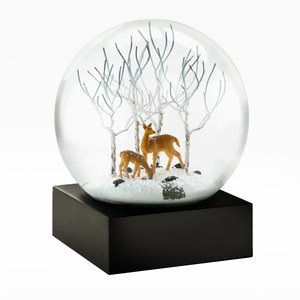 Cool Snow Globes Cool Snow Globes Deer in Woods