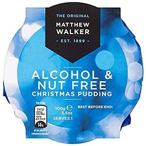 Matthew Walker Matthew Walkers Alcohol/Nut Free Christmas Pudding 100g