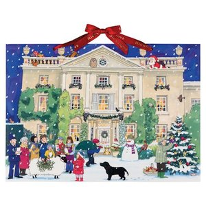 Alison Gardiner Alison Gardiner Highgrove Advent Calendar Greeting Card-Small