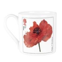 Poppy Stamp Mug