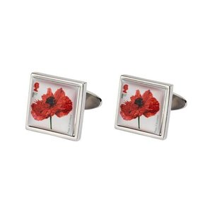Imperial War Museums Imperial War Museum Poppy cufflinks