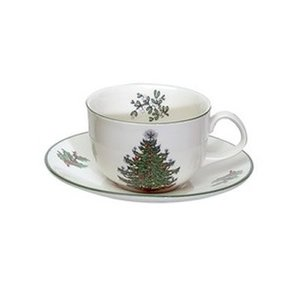 Cuthbertson Cuthbertson Christmas Tree Cup & Saucer