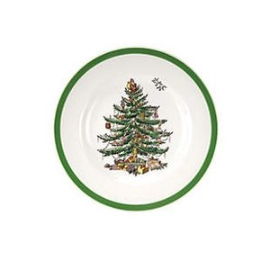 Cuthbertson Christmas Tree Dinner Plate