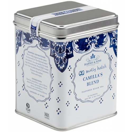 Harney & Sons Harney & Sons Molly Hatch Camilla's Blend 20s Tin