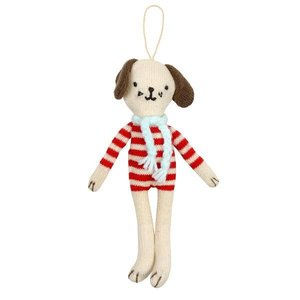 Meri Meri Meri Meri Stuffed Dog Hanging Decoration